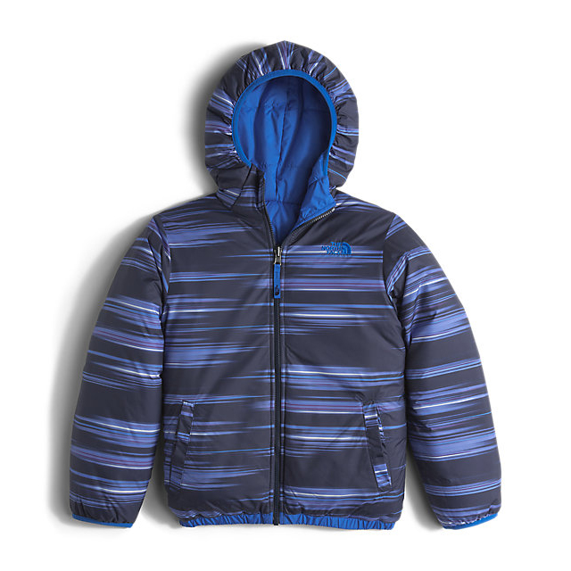 CHEAP NORTH FACE BOYS\' REVERSIBLE PERRITO JACKET JAKE BLUE ONLINE
