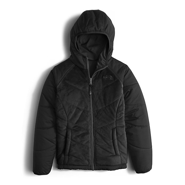 CHEAP NORTH FACE GIRLS' REVERSIBLE PERSEUS JACKET BLACK ONLINE