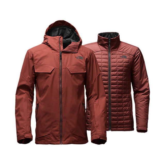 CHEAP NORTH FACE MEN'S INITIATOR THERMOBALL TRICLIMATE JACKET HOT CHOCOLATE BROWN ONLINE