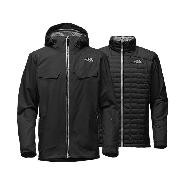 CHEAP NORTH FACE MEN'S INITIATOR THERMOBALL TRICLIMATE JACKET BLACK ONLINE