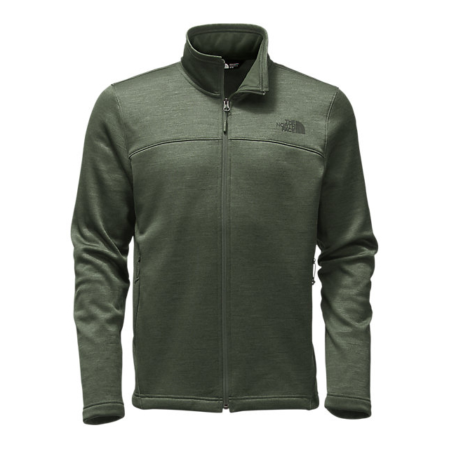 CHEAP NORTH FACE MEN'S SCHENLEY FULL ZIP CLIMBING IVY GREEN HEATHER ONLINE
