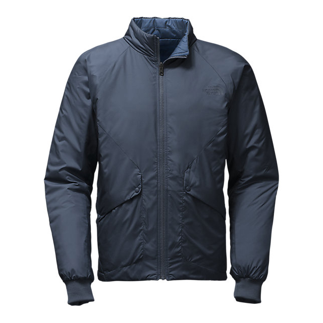 CHEAP NORTH FACE MEN'S BRAGDON REVERSIBLE JACKET URBAN NAVY/SHADY BLUE ONLINE