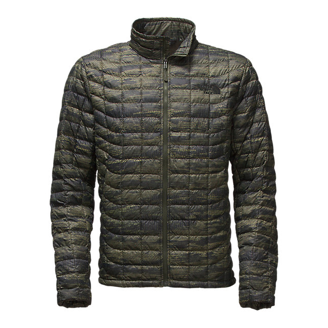 CHEAP NORTH FACE MEN'S THERMOBALL FULL ZIP JACKET ROSIN GREEN GLAMO PRINT ONLINE