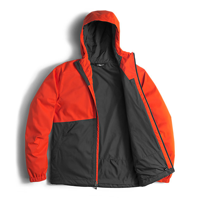 CHEAP NORTH FACE MEN\'S MILLERTON JACKET POINCIANA ORANGE/ASPHALT GREY ONLINE