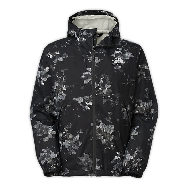 CHEAP NORTH FACE MEN'S MILLERTON JACKET ASPHALT GREY FLORAL CAMO PRINT ONLINE