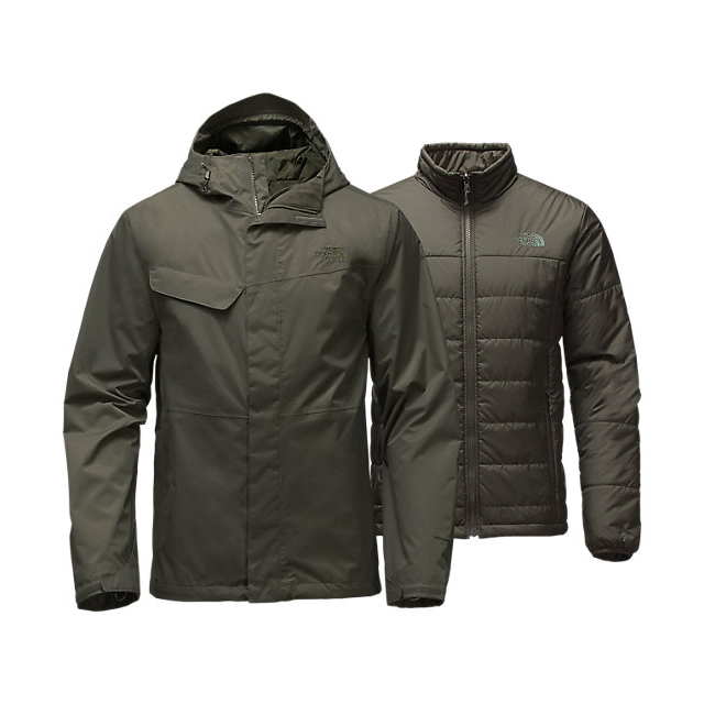 CHEAP NORTH FACE MEN'S BESWICK TRICLIMATE JACKET CLIMBING IVY GREEN/CLIMBING IVY GREEN ONLINE