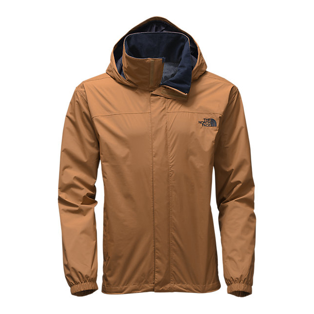 CHEAP NORTH FACE MEN'S RESOLVE JACKET DIJON BROWN ONLINE