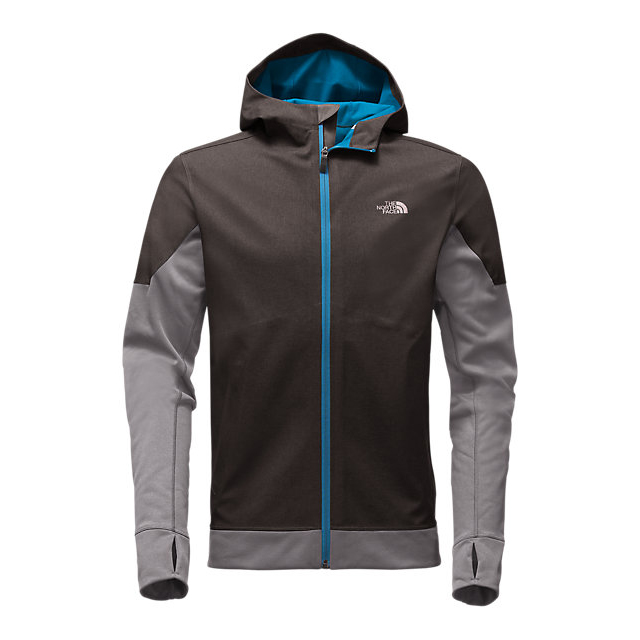 CHEAP NORTH FACE MEN'S KILOWATT JACKET DARK GREY HEATHER-BLUE ASTER ONLINE