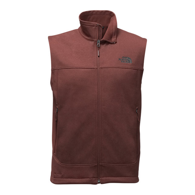 CHEAP NORTH FACE MEN'S CANYONWALL VEST SEQUOIA RED HEATHER/SEQUOIA RED HEATHER ONLINE