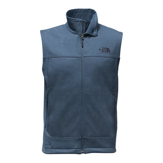 CHEAP NORTH FACE MEN'S CANYONWALL VEST SHADY BLUE HEATHER/SHADY BLUE HEATHER ONLINE