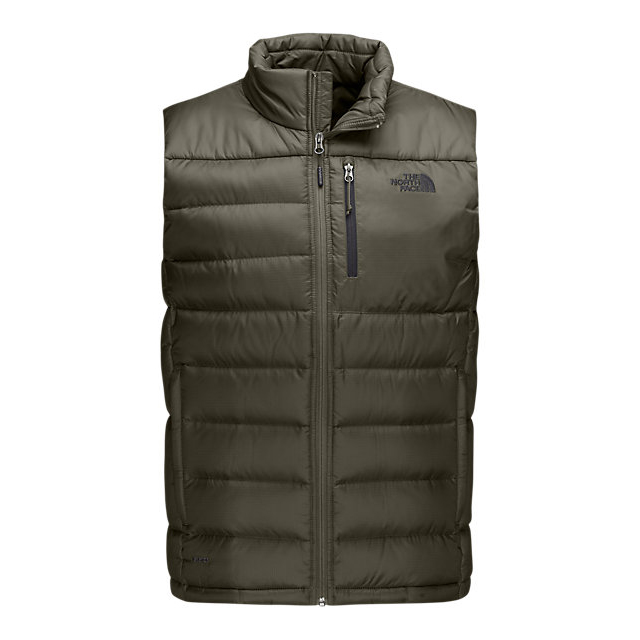 CHEAP NORTH FACE MEN\'S ACONCAGUA VEST FUSEBOX GREY ONLINE