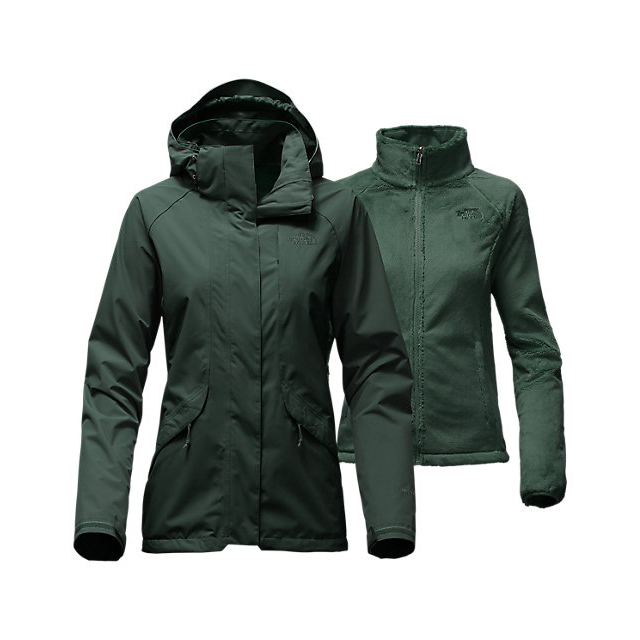 CHEAP NORTH FACE WOMEN'S BOUNDARY TRICLIMATE  JACKET DARKEST SPRUCE ONLINE