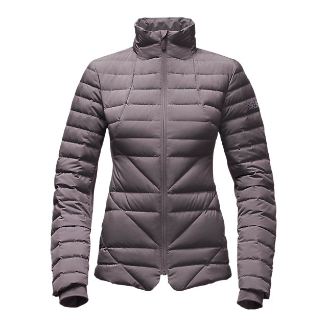 CHEAP NORTH FACE WOMEN'S LUCIA HYBRID DOWN JACKET RABBIT GREY HEATHER ONLINE