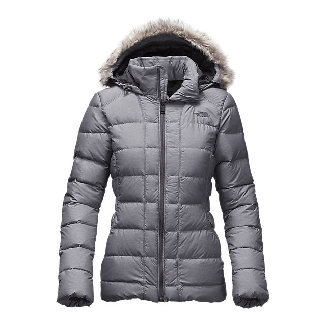 CHEAP NORTH FACE WOMEN'S GOTHAM DOWN JACKET MEDIUM GREY HEATHER ONLINE
