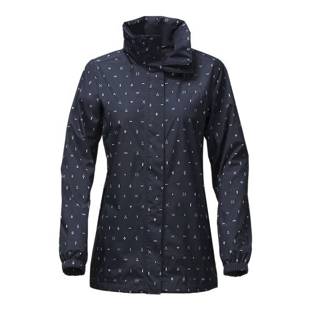 CHEAP NORTH FACE WOMEN\'S RESOLVE PARKA URBAN NAVY UNCHARTED PRINT ONLINE