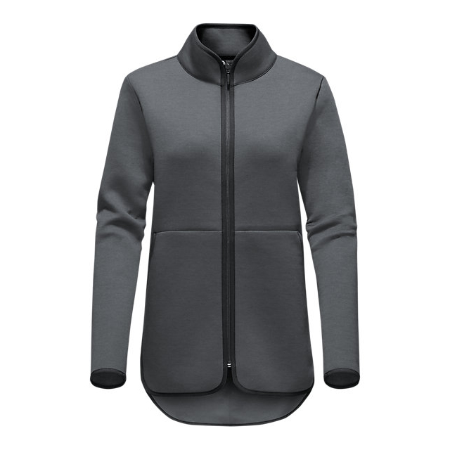 CHEAP NORTH FACE WOMEN'S THERMAL 3D FULL ZIP DARK GREY HEATHER ONLINE