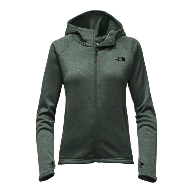 CHEAP NORTH FACE WOMEN'S TECH AGAVE HOODIE DARKEST SPRUCE HEATHER ONLINE