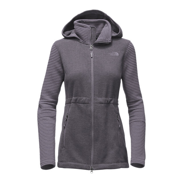 CHEAP NORTH FACE WOMEN'S INDI INSULATED HOODIE RABBIT GREY HEATHER/RABBIT GREY ONLINE