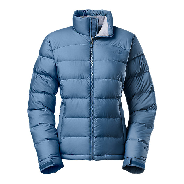 CHEAP NORTH FACE WOMEN'S NUPTSE 2 JACKET SHADY BLUE HEATHER ONLINE
