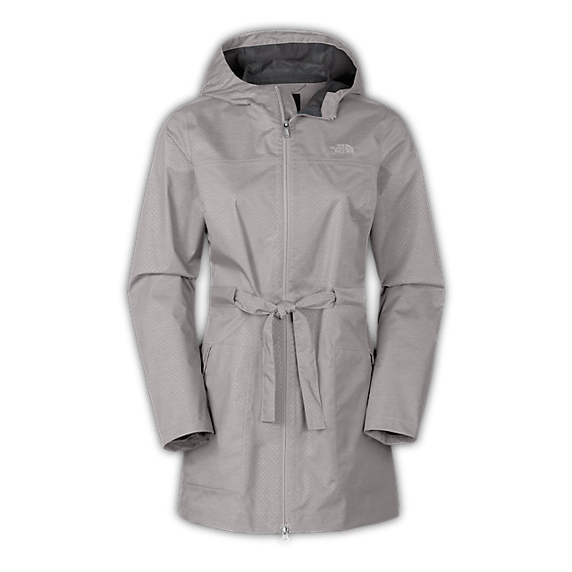 CHEAP NORTH FACE WOMEN'S TERALINDA TRENCH ASHES OF ROSES GREY ONLINE