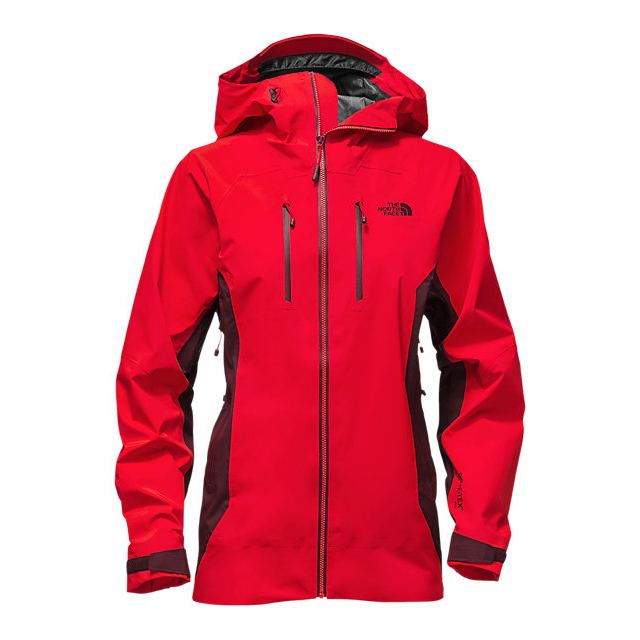 CHEAP NORTH FACE WOMEN'S DIHEDRAL SHELL JACKET HIGH RISK RED/DEEP GARNET RED ONLINE