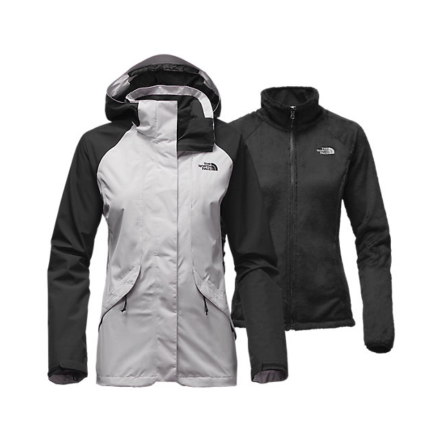 CHEAP NORTH FACE WOMEN'S BOUNDARY TRICLIMATE JACKET LUNAR ICE GREY/BLACK ONLINE
