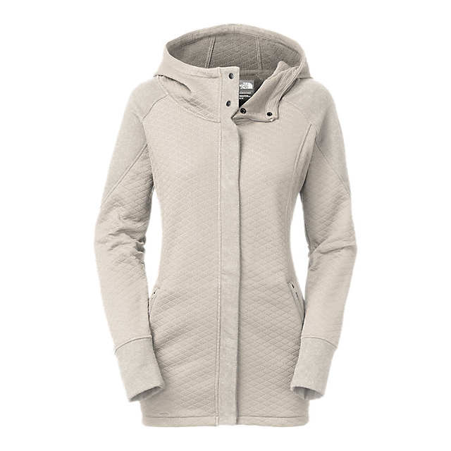 CHEAP NORTH FACE WOMEN'S RECOVER-UP JACKET MOONLIGHT IVORY HEATHER/MOONLIGHT IVORY ONLINE