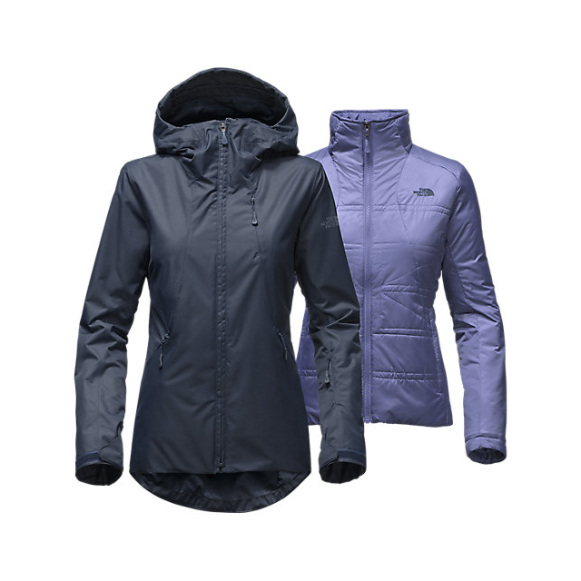CHEAP NORTH FACE WOMEN'S CLEMENTINE TRICLIMATE JACKET URBAN NAVY ONLINE