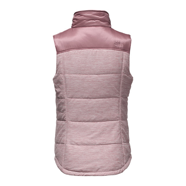 CHEAP NORTH FACE WOMEN\'S PSEUDIO VEST NOSTALGIA ROSE HEATHER/NOSTALGIA ROSE ONLINE