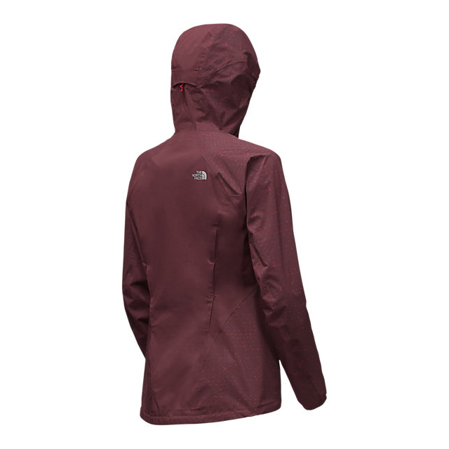 CHEAP NORTH FACE WOMEN\'S STORMY TRAIL JACKET DEEP GARNET RED ONLINE